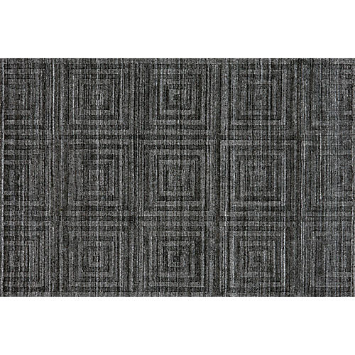 Fiona Rug, Dark Gray