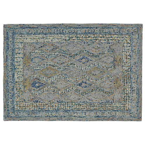 Aurora Rug, Blue