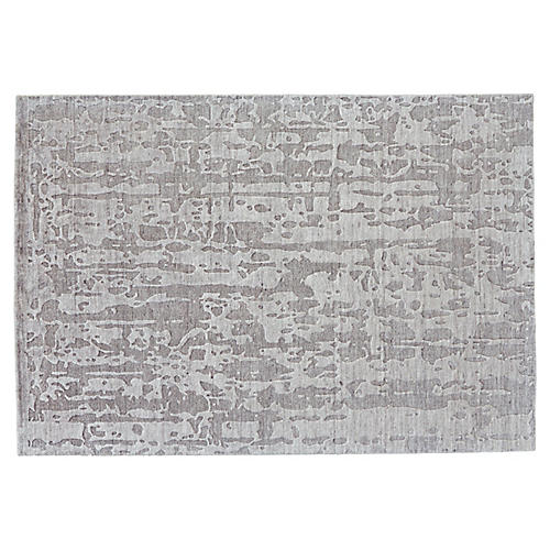 Amia Hand-Knotted Rug, Taupe