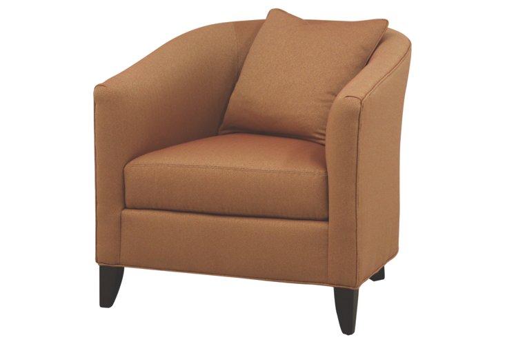 Sidney Tub Chair, Camel