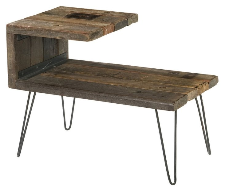 Aldo End Table, Driftwood