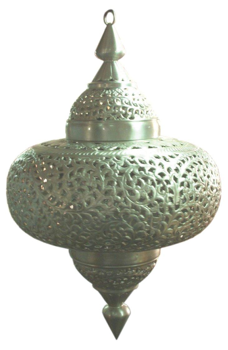 Turkey Type Lamp, Silver