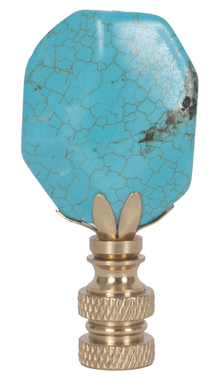 Hotel California Finial, Turquoise