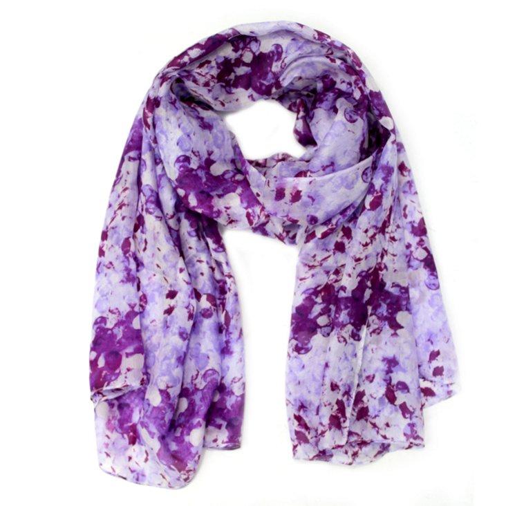 Lucinda Scarf, Purple