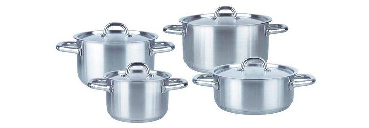 8-Pc Family Line Pot Set