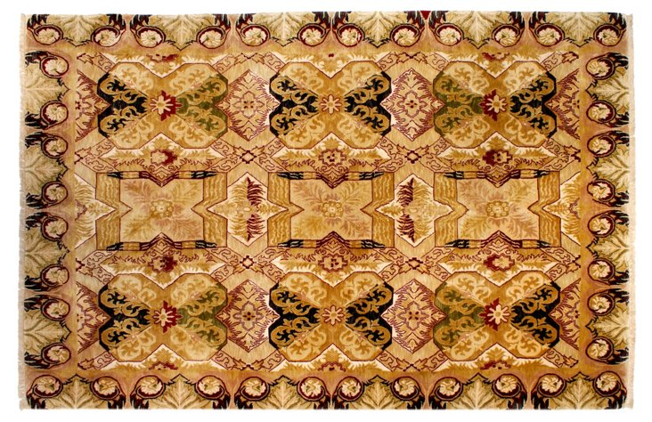 "8'4""x12'11"" Aditya Rug, Honey/Multi"