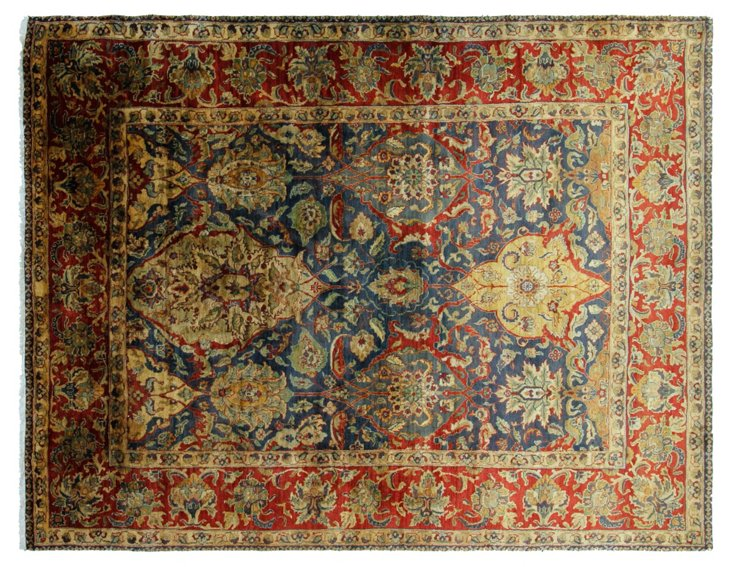 8'x10' Colbeh Rug, Blue/Red