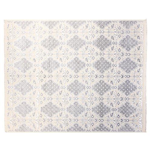 8'x10' Landon Rug, Ivory/Gray
