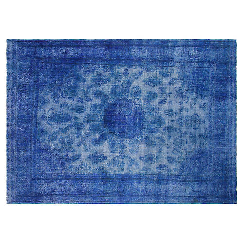 "9'10""x12'7"" Richard Rug, Blue"
