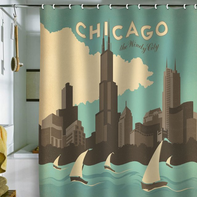 Anderson Chicago Shower Curtain