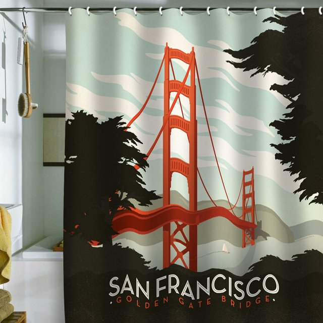 Anderson San Francisco Shower Curtain