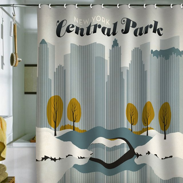 Anderson Central Park Shower Curtain