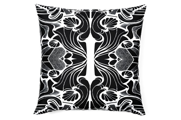Epiphany 5 20x20 Pillow, Black