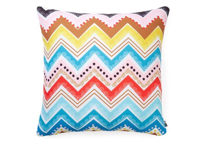 Nolita Chevrons 20x20 Pillow, Multi