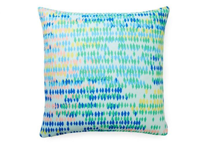 Bangalore Cool 20x20 Pillow, Green
