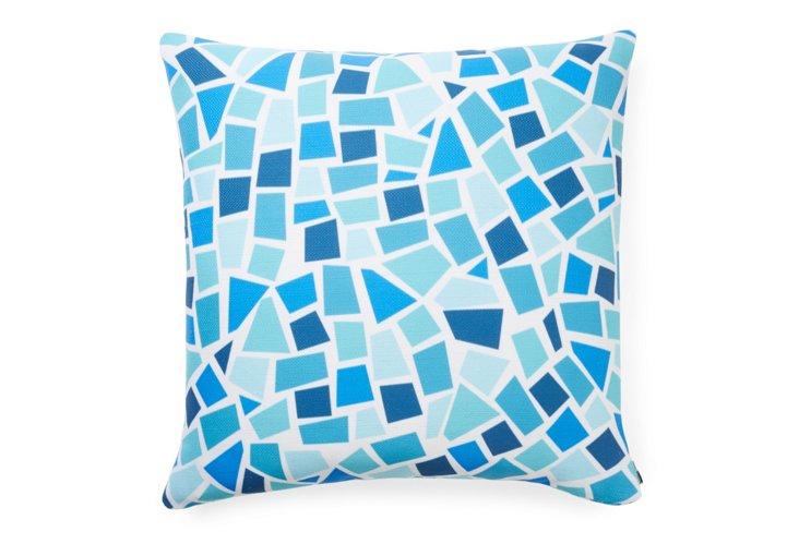 Baby Beach Bum 6 20x20 Pillow, Blue