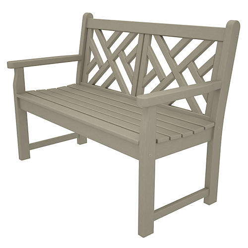 Chippendale Bench, Sand