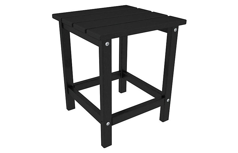 Long Island Side Table, Black