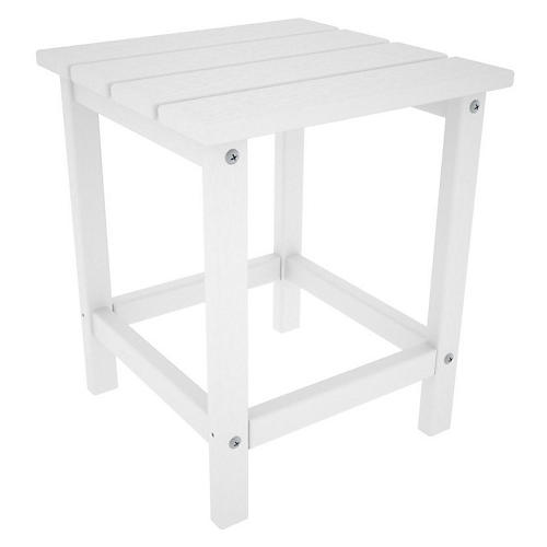 Long Island Side Table, White