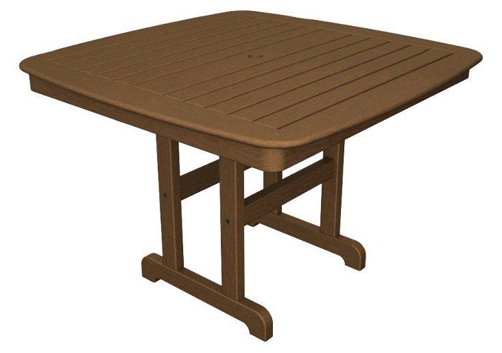 Nantucket  Dining Table, Teak