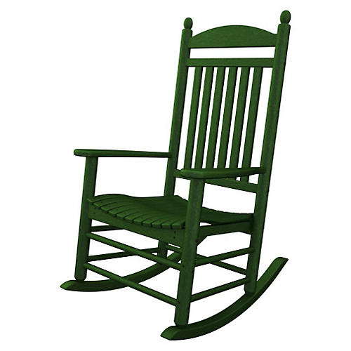 Jefferson Rocker, Green