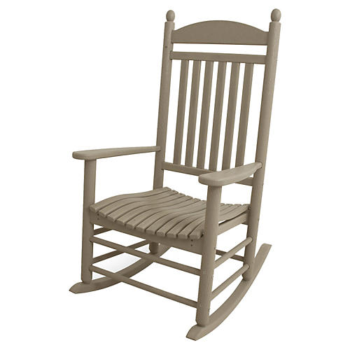 Jefferson Rocker, Sand