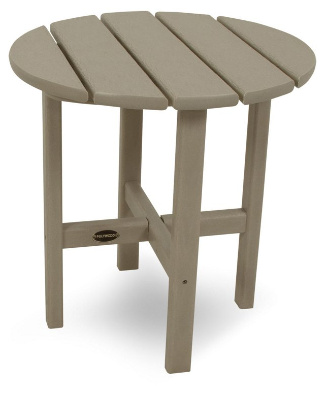Classic Side Table, Sand