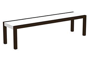 Mod Bench, White