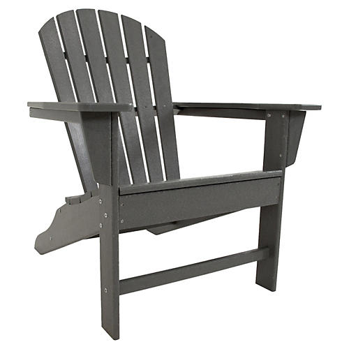 South Beach Adirondack, Slate Gray