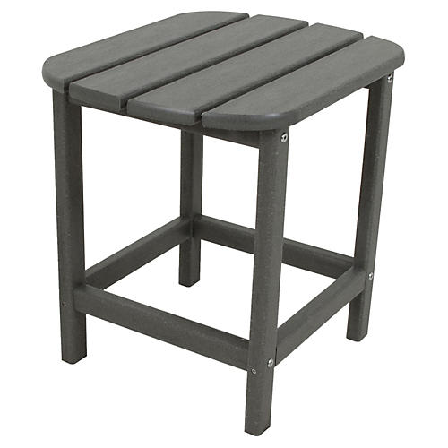 South Beach Side Table, Slate