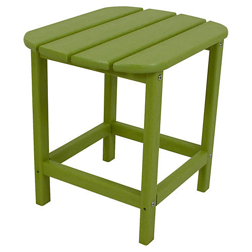 South Beach Side Table, Lime