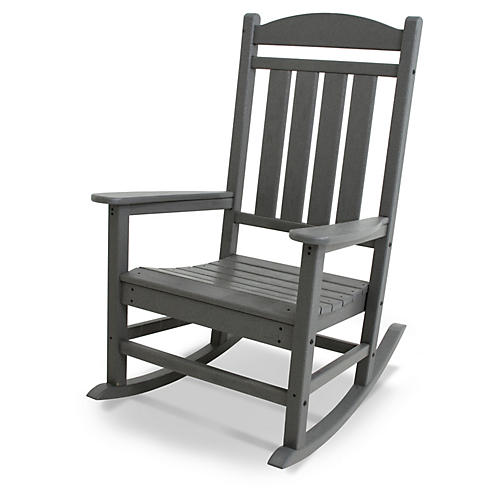 Presidential Rocker, Gray