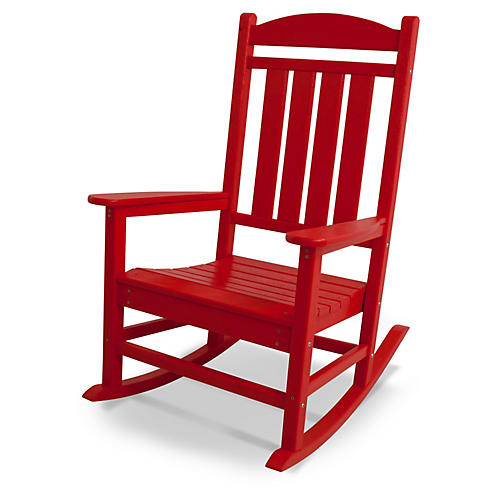 Presidential Rocker, Sunset Red
