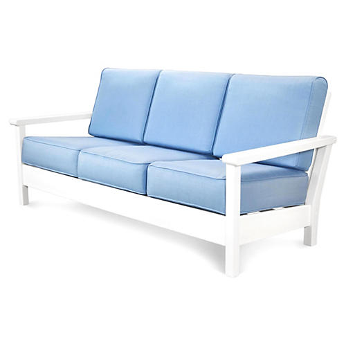 Harbour Deep-Seating Sofa, Air Blue