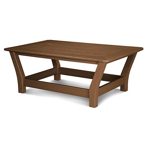 Harbour Slat Coffee Table, Teak
