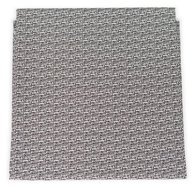 Black & White Print Sateen, 3 Yds