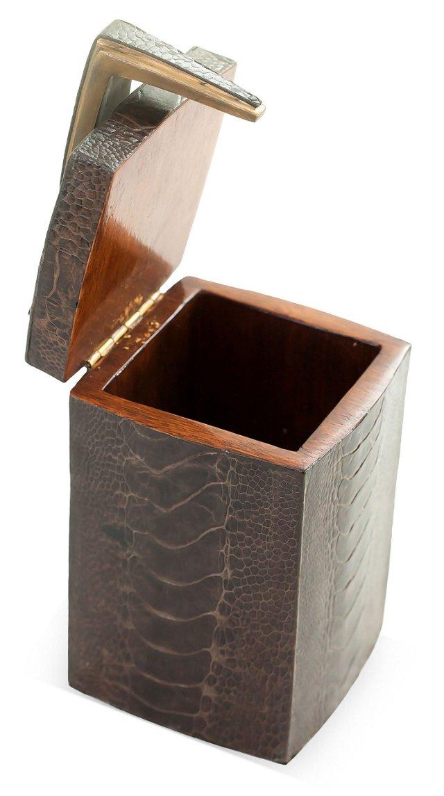 Ostrich Leg Decorative Box