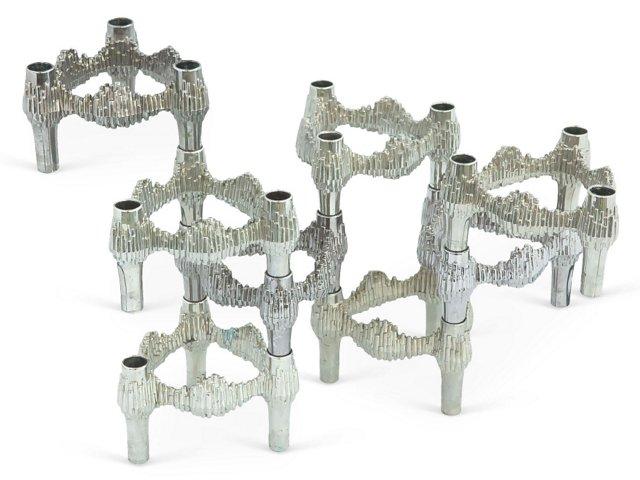 Quist Modular Candleholders, S/8