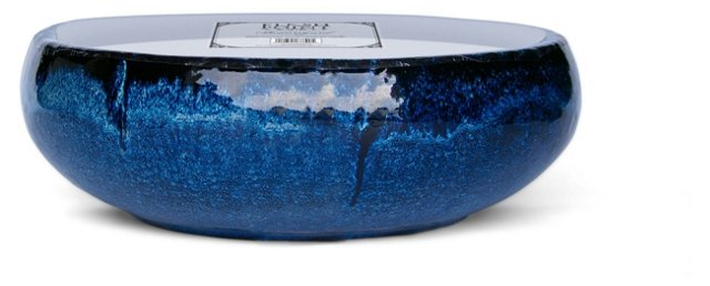 23-Wick Mission Blue Candle, Unscented