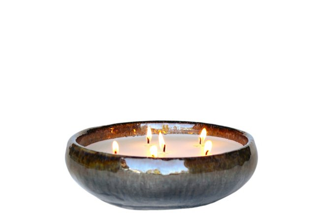 6-Wick Ocean Candle, Holiday Hearth