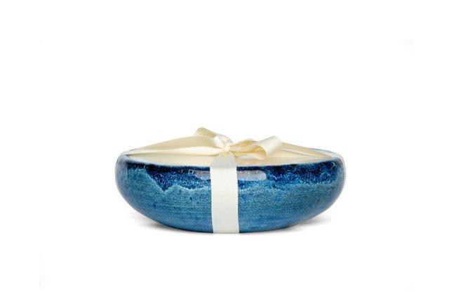 6-Wick Mission Blue Candle, Citronella