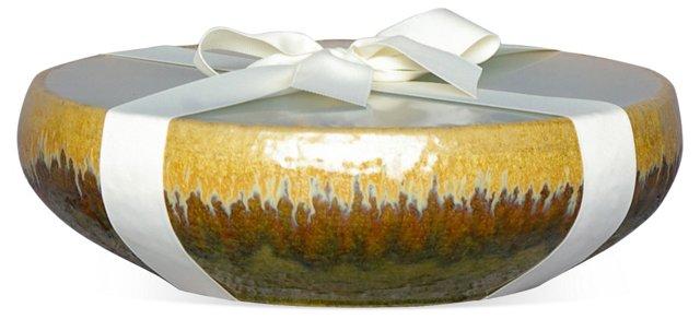 12-Wick Gold Candle, Citronella
