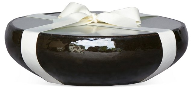 17-Wick Black Candle, Citronella