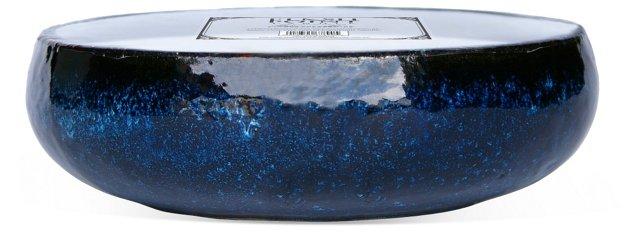 17- Wick Mission Blue Candle, Citronella
