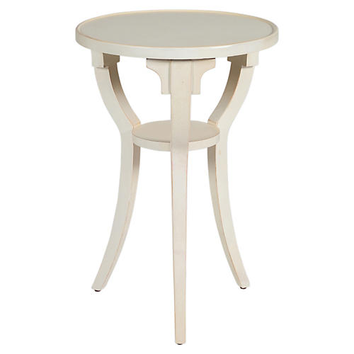 Mitchell Side Table, White