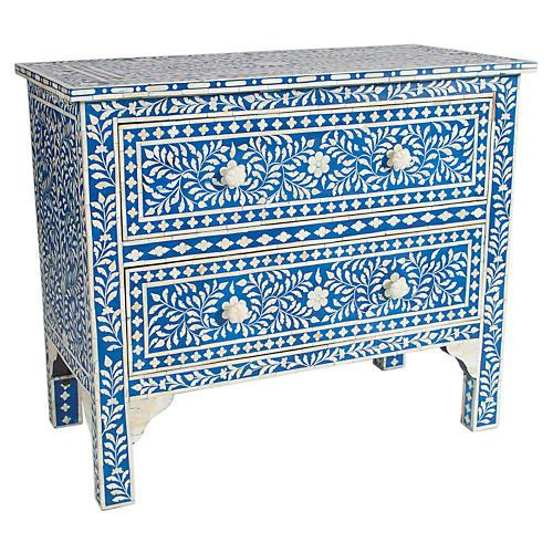 Jules Dresser, Sky Blue/Ivory