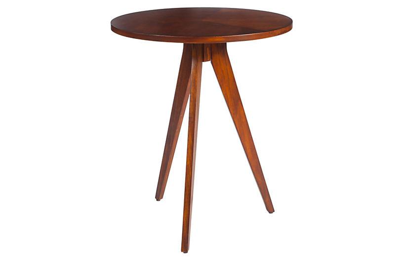 Lauren Side Table, Cherry