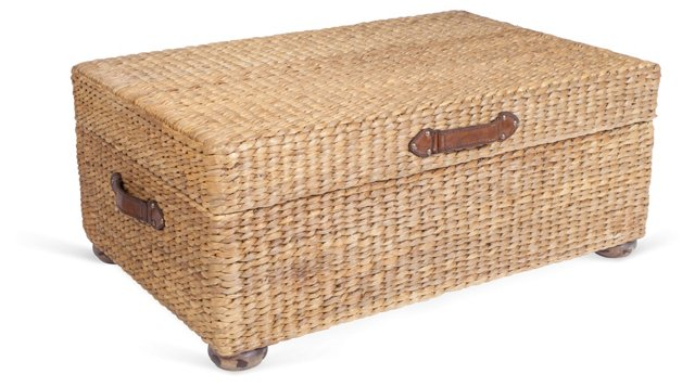 Vanessa Trunk Table, Sea Grass