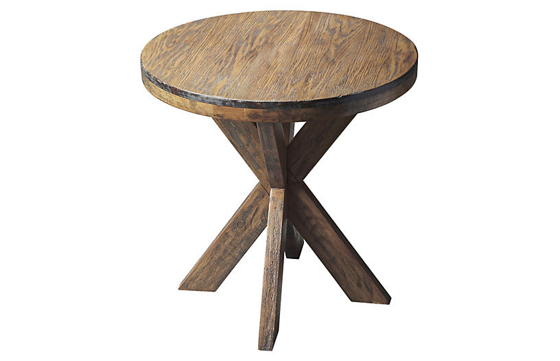 Carter Side Table - Praline