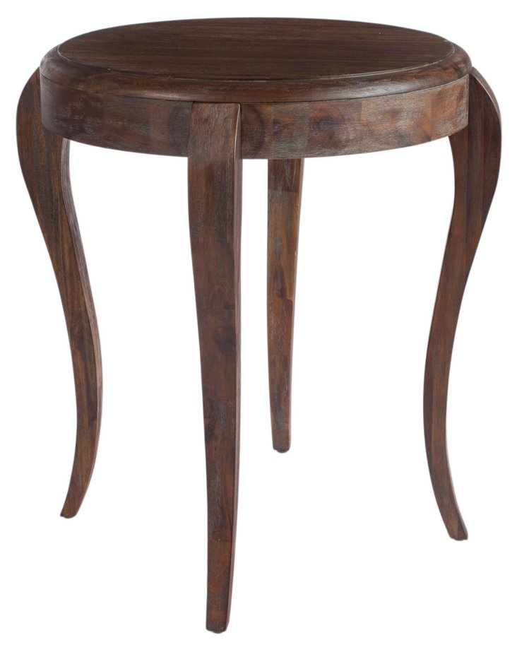 Opal Side Table, Cocoa